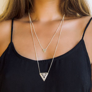 Rise Drape Necklace