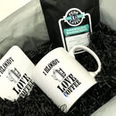 I Love Coffee Gift Set