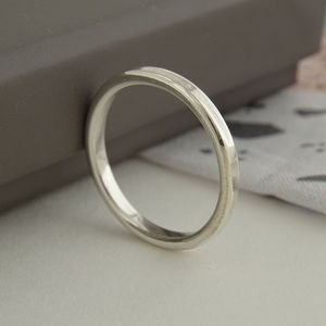 Handmade Silver Stacking Ring