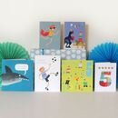 Boys' Fifth Birthday Card Pack