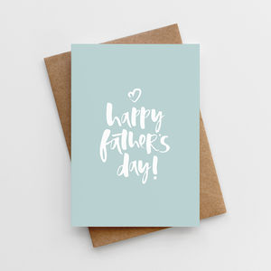 'Happy Father's Day' Father's Day Card - what's new