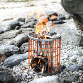 'The Horizon' Portable Camping Stove - garden