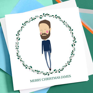 Personalised Christmas Card For Partner - summer sale