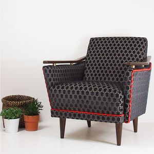 The New Pinzon Armchair In Kirkby Design Bakerloo
