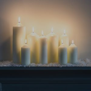 Chapel Pillar Candles - home accessories