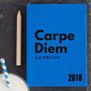 Carpe Diem Diary In Luxury Leather, With Journal Format