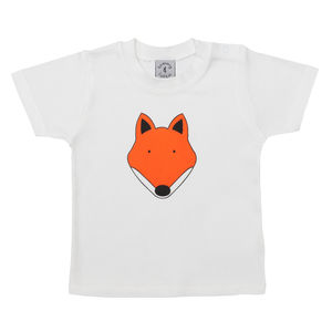 Fox Childrens T Shirt - t-shirts & tops