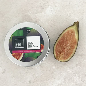 Fig And Cassis Hand And Body Cream - new in health & beauty