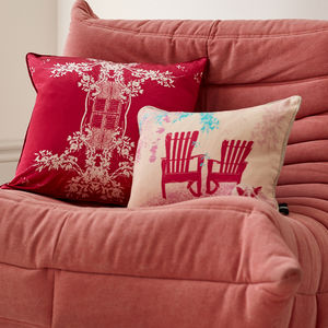 Cuban Inspired Trinidad Cushion - summer home updates