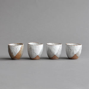 Stoneware Mini Sake Cup - cosy winter homeware