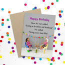 Funny Drunken Friendship Birthday Card