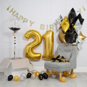 Inflated Glitz And Glam Birthday Morning Package - view all new
