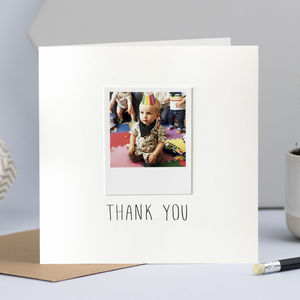 Personalised Photo Card - wedding cards
