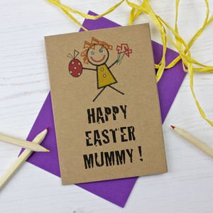 Mummy Easter Card