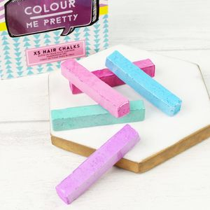 Colour Me Pack Of Pastel Hair Chalks