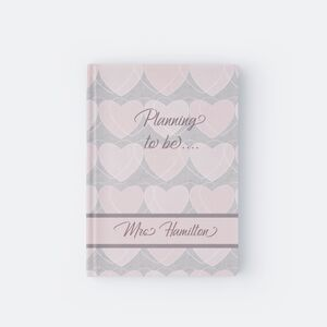 Personalised Heart Wedding Planner