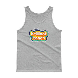 Personalised Brilliant Coach Mens Tank Top - view all new