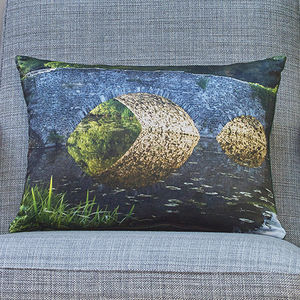 'Lemon Brothers Bridge' Handmade Photo Cushion - what's new