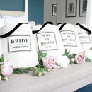 Bridal Party Luxury Wedding Tote Bags