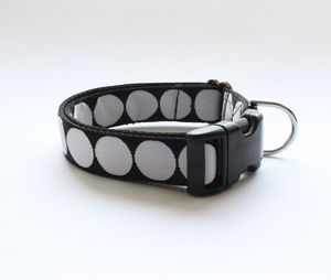 Big Spotty Dog Collar - dog collars