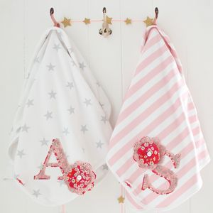 Personalised Letter Baby Blanket - baby care