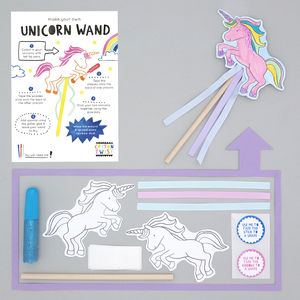 Make Your Own Unicorn Wand Kit - party bags and ideas