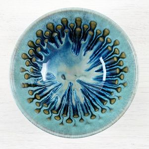 Peacock Eye Soup Bowl - bowls