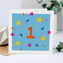 1st Birthday Card Unisex