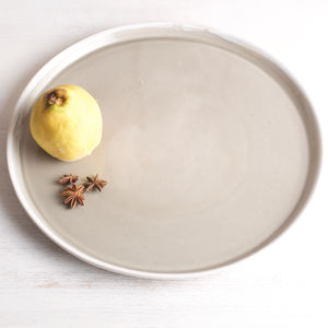 Cafe Stoneware Serving Platter - plates