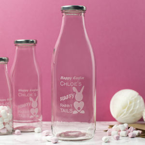 Personalised Easter Bunny Engraved Bottle