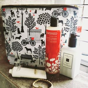 Mono Days In The Park Wash Bag - make-up & wash bags