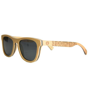 Enjees Handcrafted Wooden Beech Sunglasses - hats