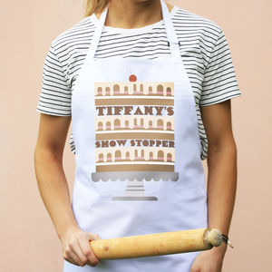 Personalised Cake Apron - baking