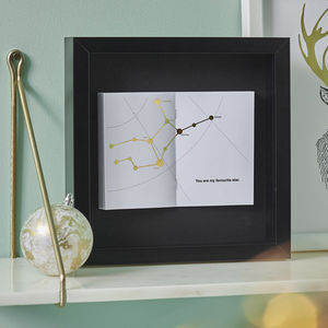 Personalised Constellation Frame - gifts for her