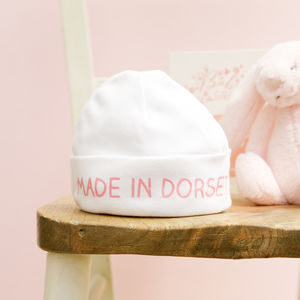 Personalised Baby Hat - more