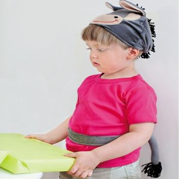 Donkey Dressing Up Hat And Tail: Age 18 Months+