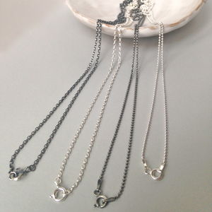 Silver Chains - necklaces