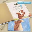 Personalised Daddy Book 'Because of You'
