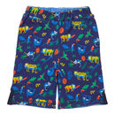 Unisex Safari Multicoloured Reversible Summer Shorts