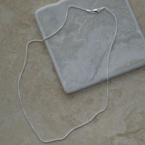 Sterling Silver Neck Chain - necklaces & pendants