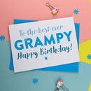 Birthday Card For Grampa Gramps Grampy Grandad