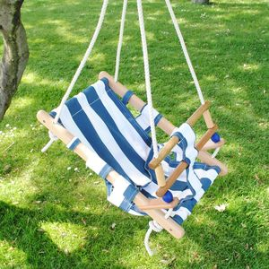Wooden Nautical Baby Swing - wooden toys