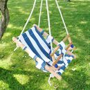Wooden Nautical Baby Swing