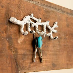 Key Twig With White Patna Finish