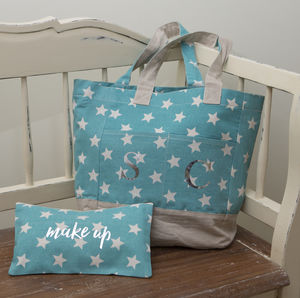 Turquoise Star Bag - womens