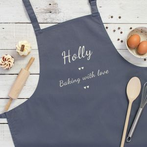 Personalised Apron - home sale