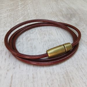 Leather Stanley Bracelet - winter sale