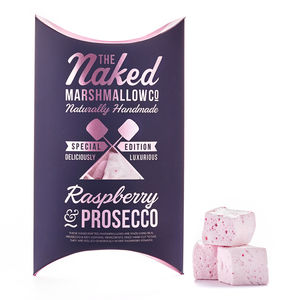 Raspberry And Prosecco Gourmet Marshmallows - wines, beers & spirits