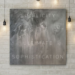 'Simplicity' Original Acrylic Painting - canvas prints & art