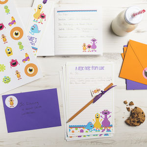Personalised Monster Stationery Bundle